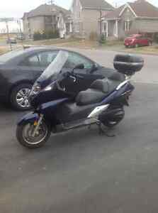 Honda scooter 600cc silverwing