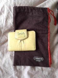 Authentic Coach Makeup Bags & Wallet
