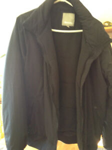 Bench winter jacket with hood
