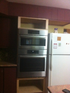 Brand-New Barely-Used Bosch Microwave and Oven