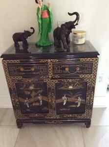Chinese console & cabinet