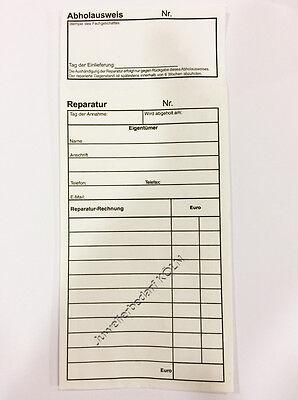500x Reparaturbeutel Reparaturtüte mit Perforation;Schmuck-Handy-Uhrenreparatur