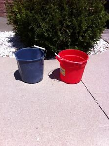 Plastic Cleaning Pails London Ontario image 1