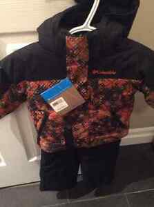 New with tags Boys Columbia 2 piece Snowsuit Jacket & Snowpants Stratford Kitchener Area image 2