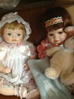 Porcelain Dolls by Hamilton Doll Collection