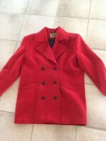 Stylish Red Coat size M-L