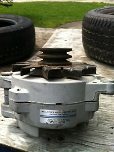 Rebuilt 77 Mopar Dodge Chrysler 114 amp Alternator Cambridge Kitchener Area image 3