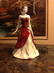 ROYAL DOULTON'S FIGURINE OF THE YEAR. EMILY. HN4817