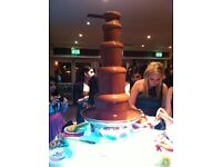 Chocolate fountain hire, chocolate fountain hire London