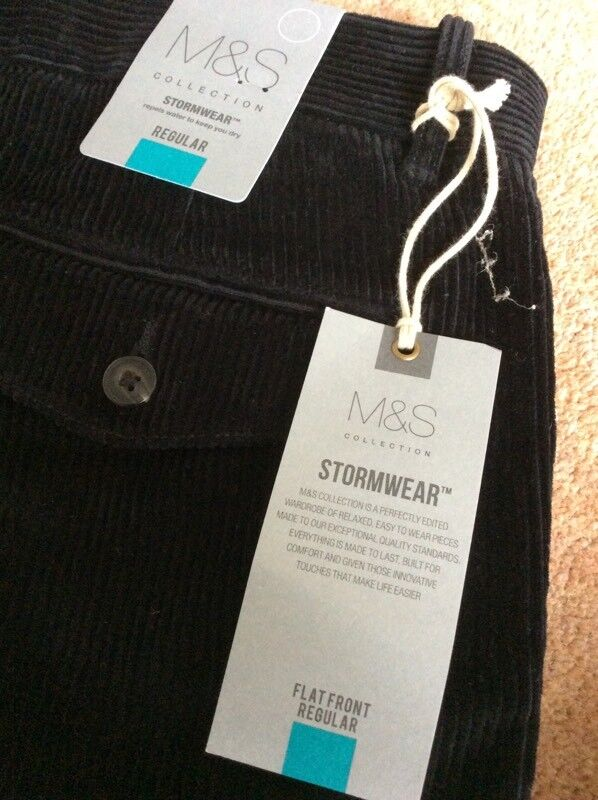 Marks and Spencer's cord trousers