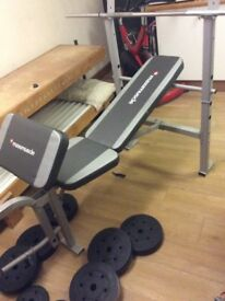 Maxi muscle weight bench