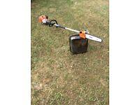 Stihl petrol pole chainsaw