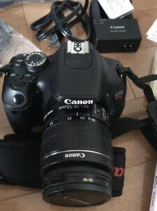Camera Canon OES rebel 3i 600D et pièces d'équipement