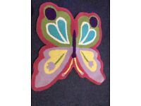 Brand New John Lewis Butterfly Rug RRP £60