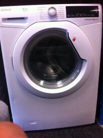 Hoover washing machine (white)