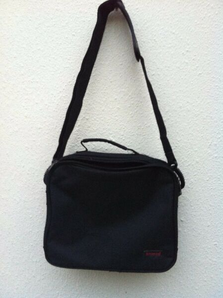 Shinco DVD carrier bag.