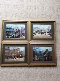 4 prints of old Kilmarnock