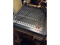 Soundcraft spirit love 12 channel desk