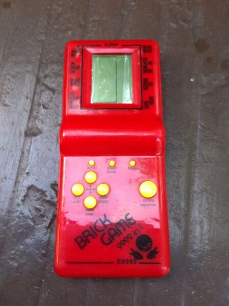 Childhood Classic Brick Game. In very good condition and working properly.