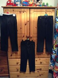 Boys school trousers age 5-6