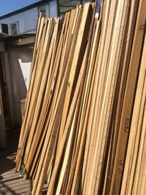 Pack of 20 only £12 Wide variety of wooden batons 8ft trellis etc