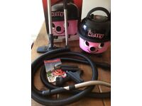Hetty pink numatic hoover