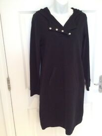Ralph Lauren Black Casual Hooded Dress - New