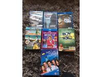 Collection of new, unused Blu-Rays