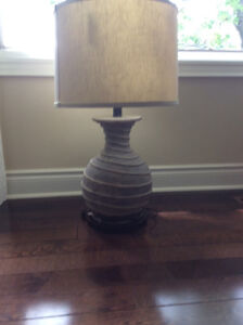 Two Unusual Looking Lamps