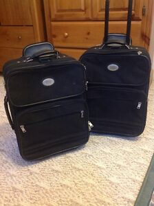 Carry on size luggage