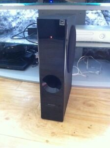Sharp ht sl50 sound bar and sub woofer