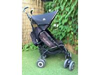 maclaren xt black baby buggy pushchair stroller