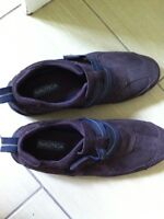 Brown leather Nautica shoes- new! Sz 41