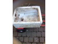 Old Butler sink