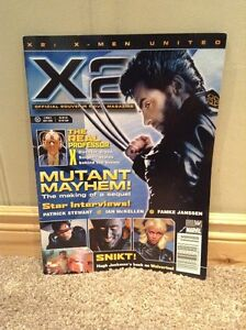 X-Men 2 Collectible Official Souvenir Magazine 2003 --NEW PRICE! Kitchener / Waterloo Kitchener Area image 1