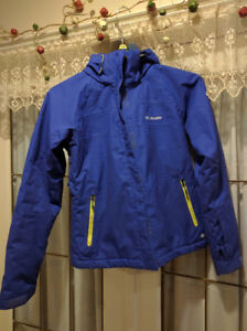Women's Columbia ski jacket.