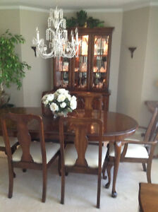 Queen Anne style dining room suite