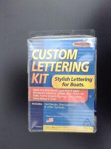 Hardline Custom Lettering Kit - Waterproof, Washable & Permanent Cambridge Kitchener Area image 2