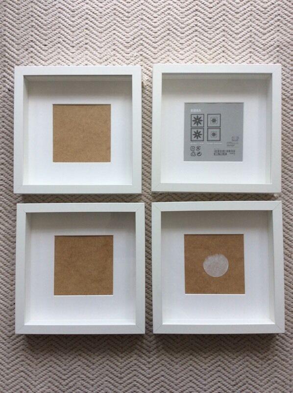 ikea ribba white square picture frames 23cm x 23cm - White Square Picture Frames