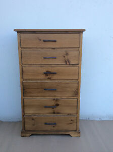 SOLID WOOD, CANADIAN MADE CHEST OF DRAWERS Starting at $279.95