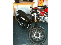 WK Bikes 125 124cc RT Naked. Retro Looking. 125 learner legal