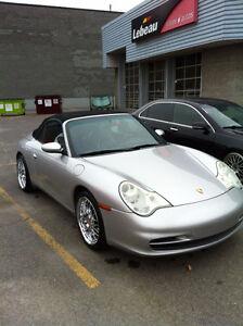 2003 Porsche 911 C4  Cabriolet