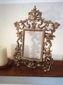 Art Deco/art nouveau mirror/picture frame.