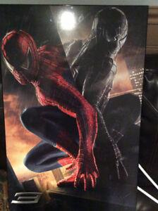 poster en bois du film spiderman 3