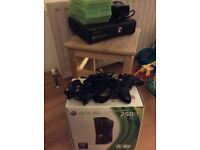 XBOX 360 with seven games