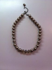 Never worn. Lisa Sophia Bronze Pearl Necklace