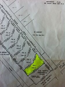 Only one left building lot in miramichi