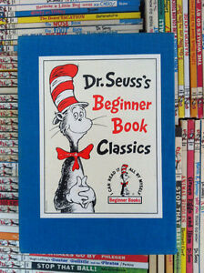 ▀▄▀Dr. Seuss's Beginner Book Classics Box Set 5 Books-1988