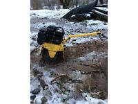 Bomag bw55e compact roller