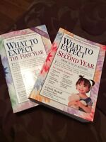 What to expect: first year & second year by Heidi murkoff